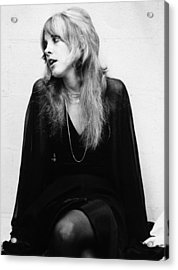 Photo Of Stevie Nicks And Fleetwood Mac Acrylic Print