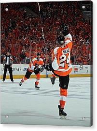 Pittsburgh Penguins V Philadelphia Acrylic Print by Bruce Bennett