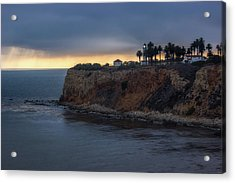 Point Vicente Lighthouse At Sunset Acrylic Print