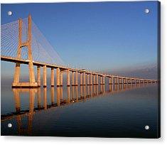 Ponte Vasco Da Gama Acrylic Print