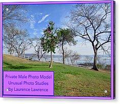 Private Photo Model Bn Acrylic Print