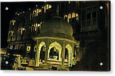 Tomb Of Shinning Windows Acrylic Print