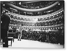 Ray Charles At Carnegie Hall Acrylic Print