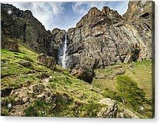 Raysko Praskalo Waterfall, Balkan Mountain Acrylic Print
