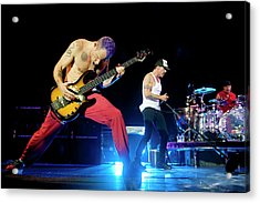 Red Hot Chili Peppers Perform At O2 Acrylic Print