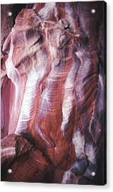 Rocky Background Acrylic Print by John Foxx