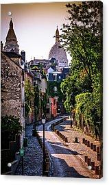Sacre Coeur Basilica In Paris, France Acrylic Print