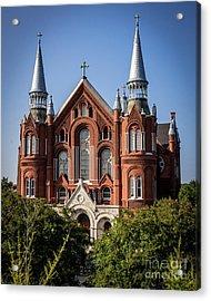 Sacred Heart Cultural Center - Augusta Ga Acrylic Print
