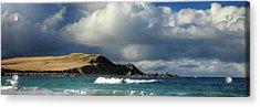 Sango Bay - Durness Acrylic Print by Grant Glendinning