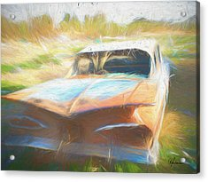 Scrap Car II Acrylic Print