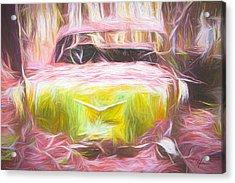 Scrap Car Iv Acrylic Print