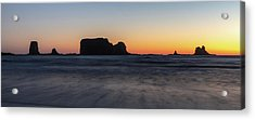 Second Beach Acrylic Print