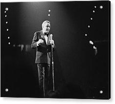 Sinatra On Stage Acrylic Print by David Redfern
