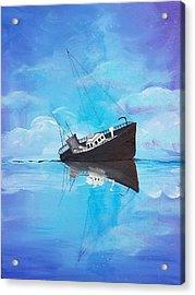 Sinking Ship  Acrylic Print