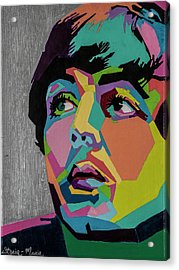 Sir Paul Mccartney Acrylic Print