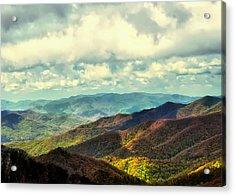 Smoky Mountain Memory Acrylic Print