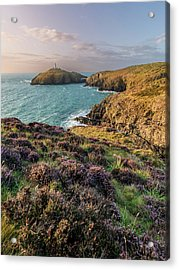 Acrylic Print featuring the photograph Strumble Head Lighthouse by Elliott Coleman