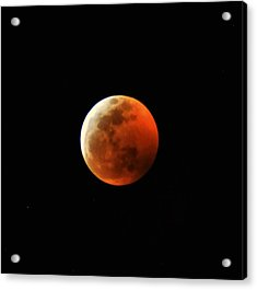 Super Blood Wolf Moon Acrylic Print