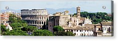 The Colosseum In Rome Italy Acrylic Print by Deejpilot