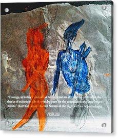 The Immolation Acrylic Print