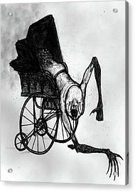 The Nightmare Carriage - Artwork Acrylic Print