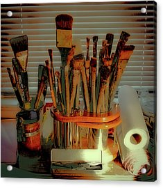 The Tools Of An Artist Acrylic Print
