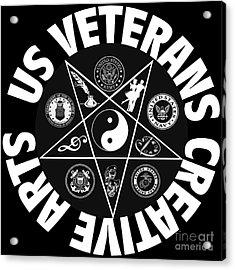 U.s. Veterans Creative Arts Acrylic Print
