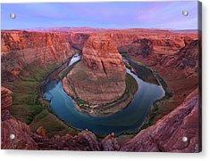 Usa, Arizona Colorado River Flows Acrylic Print by Jaynes Gallery