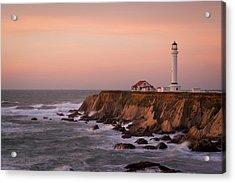 Usa, California, Point Arena Acrylic Print