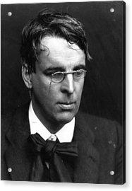 W B Yeats Acrylic Print by George C. Beresford