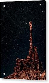 When The Earth Meets The Sky Acrylic Print