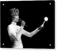Whitney Houston Live In Concert Acrylic Print