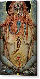 Yogi. Kutastha Acrylic Print by Vrindavan Das