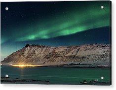 Aurora Borealis Or Northern Lights Acrylic Print