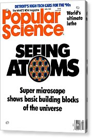 Popular Science Magazine Covers Acrylic Print by Popular Science