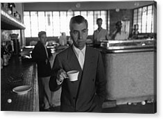 Lucky Luciano Acrylic Print by Slim Aarons