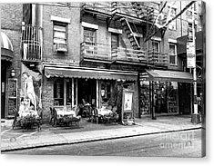 129 Mulberry Street New York City Acrylic Print