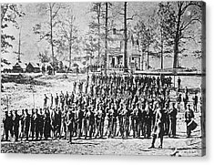 149th Ny Volunteer Regiment Acrylic Print by Archive Photos