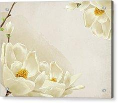 Peaceful Flower Acrylic Print by Eastnine Inc.
