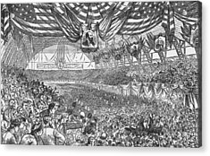 1884 Republican National Convention Acrylic Print by Kean Collection