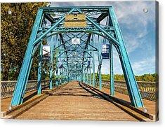 1890 Walnut Street Bridge Chattanooga  -  1890walnutstreetbridgechattanooga137350 Acrylic Print