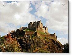 19/08/13 Edinburgh, The Castle. Acrylic Print
