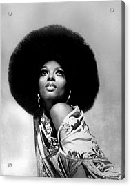 Diana Ross Portrait Session Acrylic Print