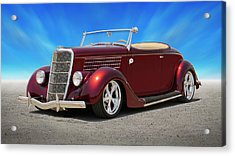 1935 Ford Roadster Acrylic Print