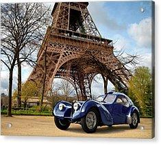 1938 Bugatti Type 57sc Electron Acrylic Print