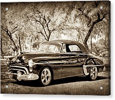 1950 Oldsmobile 88 -004bwcl Acrylic Print