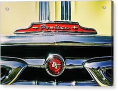 1953 Pontiac Grille Acrylic Print
