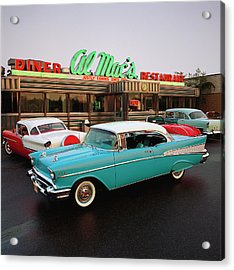 1957 Chevrolet Bel Air Sports Coupe Acrylic Print