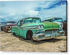 1958 Oldsmobile Super 88 Acrylic Print