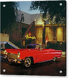 1960 Lincoln Continental Mark V Acrylic Print
